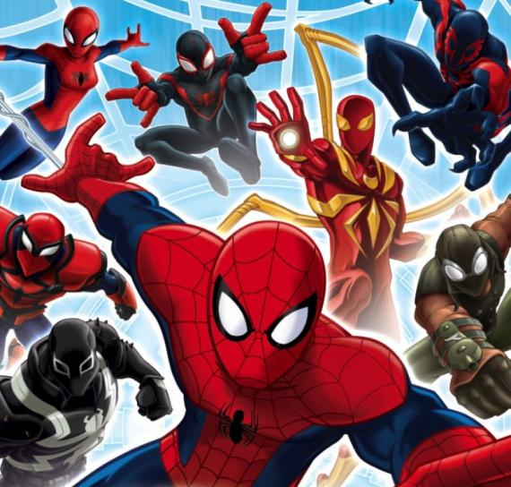 Imagen promocional de Ultimate Spider-Man: Web Warriors, tercera temporada de Ultimate Spider-Man