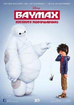 Póster alemán de Big Hero 6 (2014)