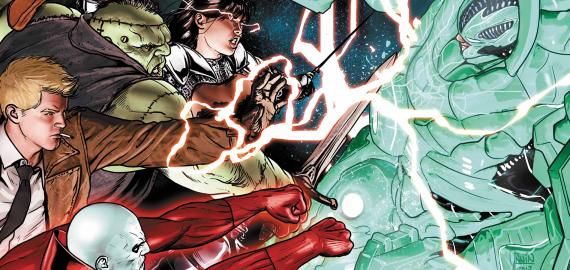 Imagen portada del cómics Justice League Dark Vol. 3: The Death of Magic