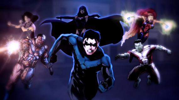 Jóvenes Titanes / Teen Titans de DC Cómics