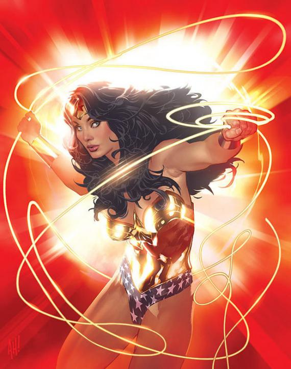 Wonder Woman Adam Hughes