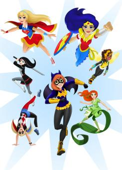 DC Entertainment y Warner Bros. lanzan la iniciativa DC Super Hero Girls