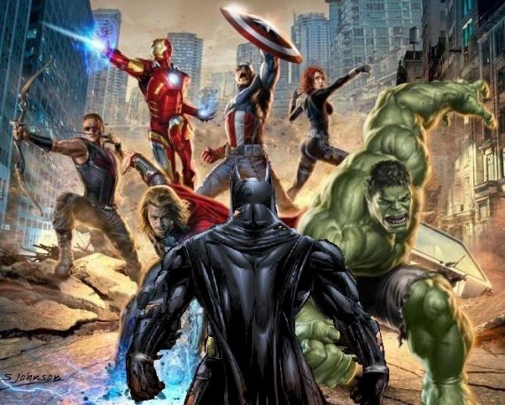 Imagen de Batman VS The Avengers