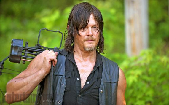 Daryl en la sexta temporada de The Walking Dead