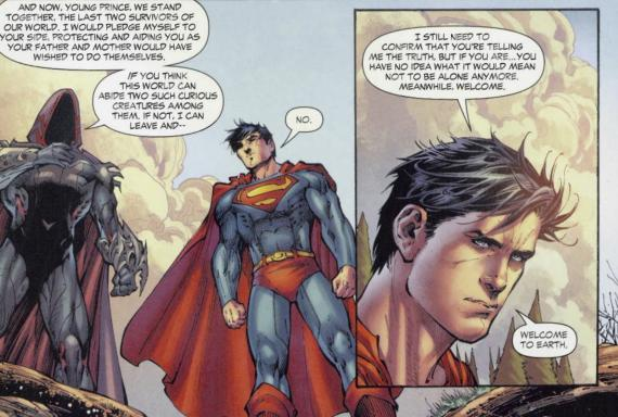 Viñeta de Superman: Earth One Vol. 3