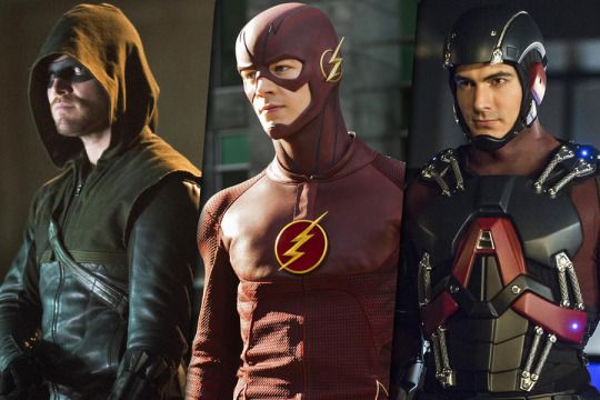 Arrow, Flash y Atom