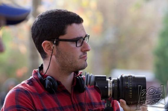 Josh Trank en el set de Chronicle (2012)