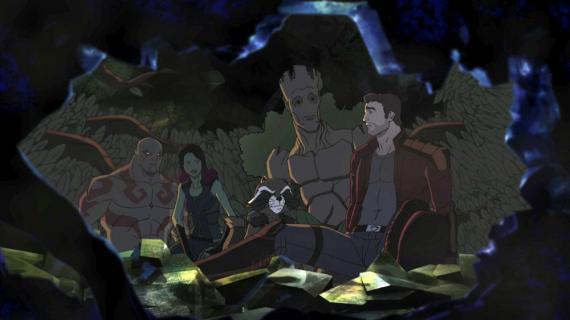 Imagen de la serie de animación Guardianes de la Galaxia (2015)