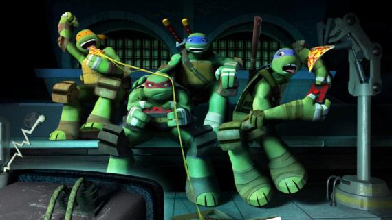 Imagen de la cuarta temporada de Teenage Mutant Ninja Turtles