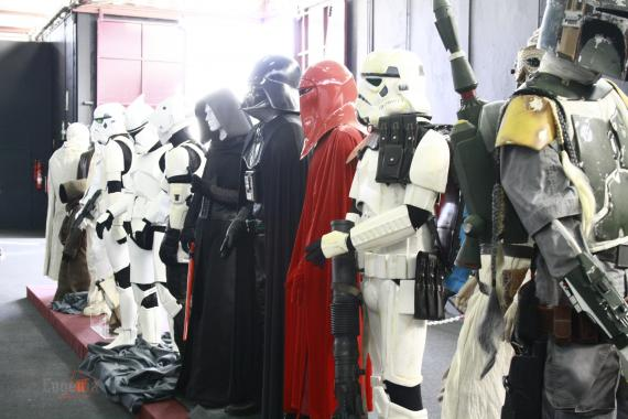 Exposición de Star Wars en la Cómic-Can 2015