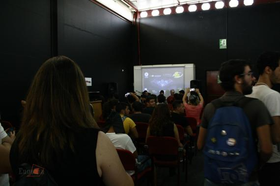 Charla de Dark Justice en la Cómic-Can 2015