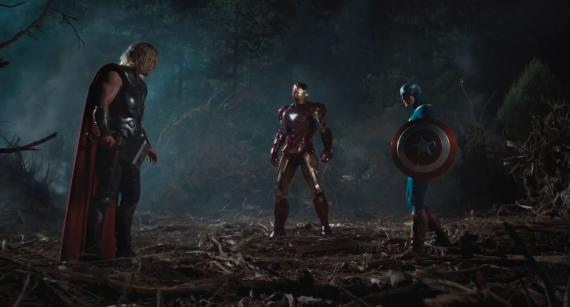 Captura del segundo trailer de The Avengers / Los Vengadores (2012)