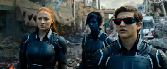 Captura del primer trailer de X-Men: Apocalipsis (2016)