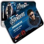 """Tarjeta de Identidad """"The Avengers"""" de Montana"""