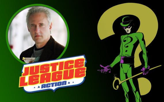 Brent Spiner pondrá voz a The Riddler en Justice League Action