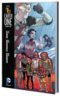 Portada de Teen Titans: Earth One Vol. 2
