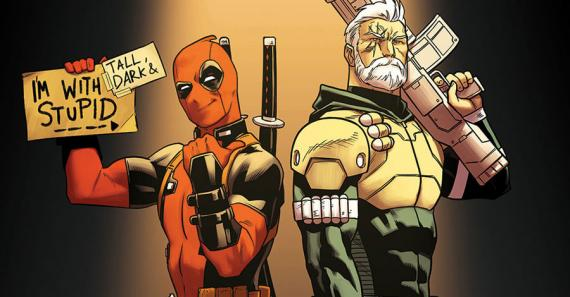 Deadpool y Cable en los cómics