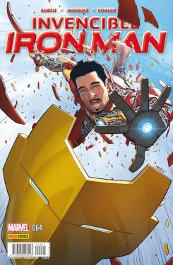 Portada de Iron Man 64, por David Márquez