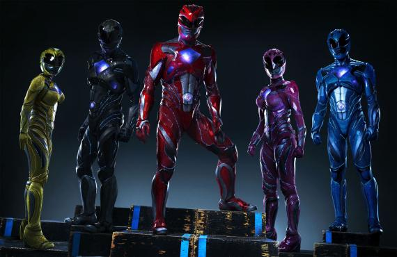 Vistazo oficial a los Power Rangers de Saban's Power Rangers (2017)