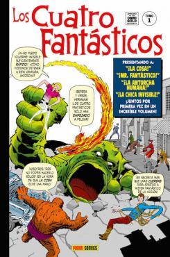 Portada de Marvel Gold. Los Cuatro Fantásticos 1 - Génesis
