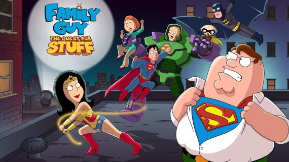 Crossover entre Family Guy y DC Comics