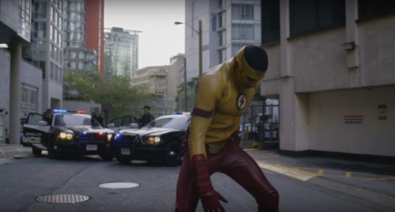 Captura del primer trailer de la tercera temporada de The Flash