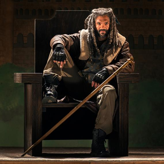 Khary Payton es Ezekiel en The Walking Dead