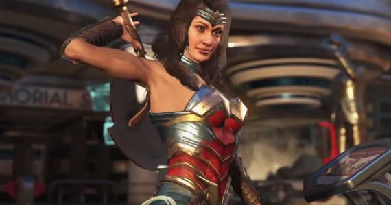 Wonder Woman en Injustice 2 (2017)