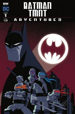 Portada de Batman / TMNT Adventures #1
