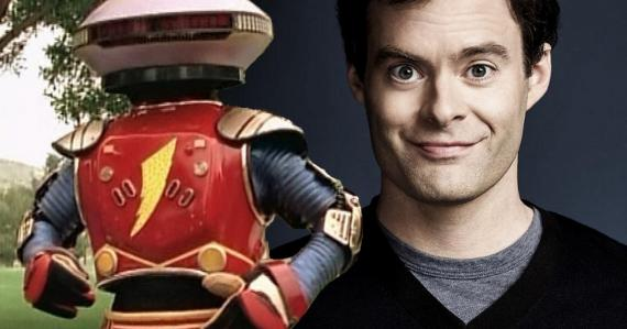 Bill Hader será Alpha 5 en Power Rangers