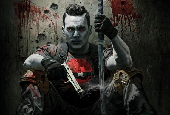 Primer vistazo a Jason David Frank como Bloodshot en la web-serie de Valiant de Bat in the Sun