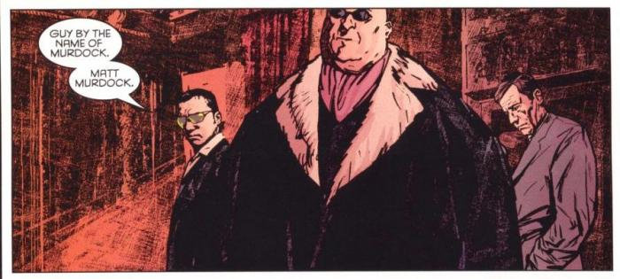 Daredevil, Lugarteniente - Panel interior de Alex Maleev