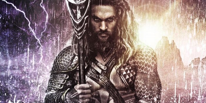 Fan-art del póster de Aquaman en Batman v Superman