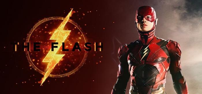 Montaje con el logo y la figura de Flash