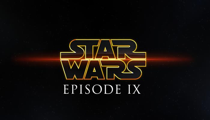 Posible logo de Star Wars: Episodio IX (2019)