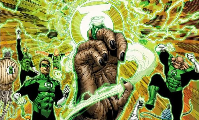 Portada del primer número de Planet of the Apes / Green Lantern