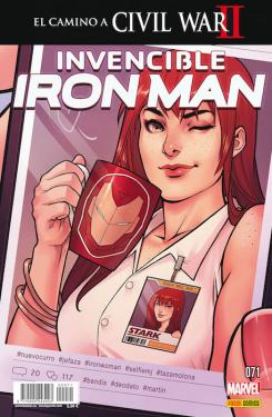Invencible Iron Man 71 - Portada