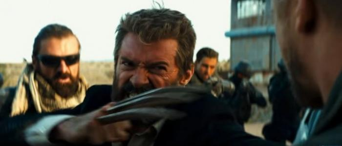 Captura del trailer de Logan (2017)