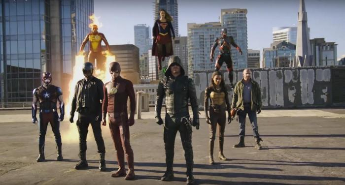 Captura del trailer de Invasion!, el gran crossover entre Supergirl, The Flash, Arrow y Legends of Tomorrow