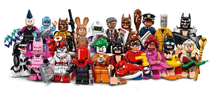 Mini-figuras de The LEGO Batman Movie (2017)