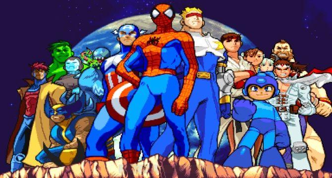 Los personajes de Marvel vs. Capcom