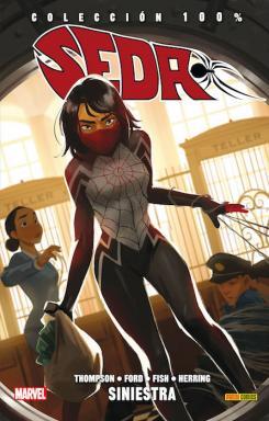 Imagen portada del tomo 100% Marvel Seda 1: Siniestra, de Panini Cómics