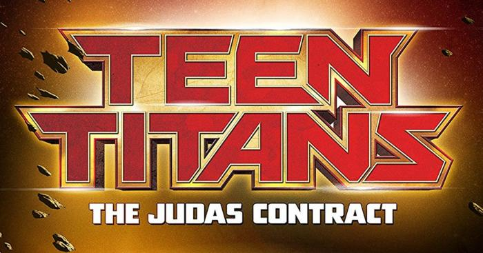 Primer póster de Teen Titans: The Judas Contract