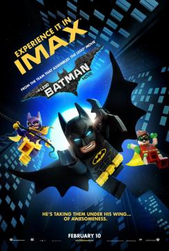 Póster para IMAX de The LEGO Batman Movie (2017)