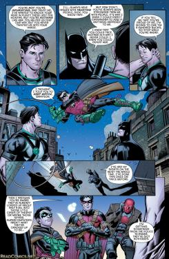 Página de Batman and Robin eternal #26