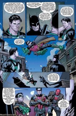 Página de Batman and Robin eternal #26