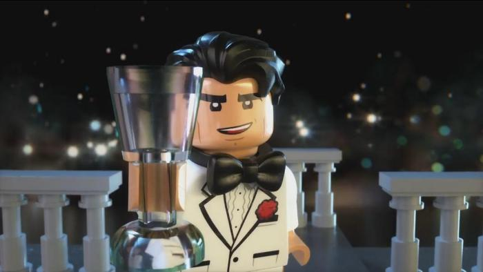 Captura del spot de Año Nuevo de The LEGO Batman Movie (2017)