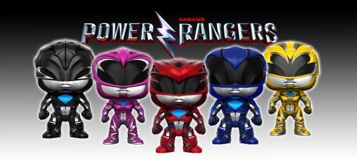 Figuras Funko Pop! de Power Rangers
