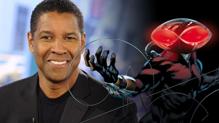 Rumores de Denzel Washington como candidato a Black Manta en Aquaman