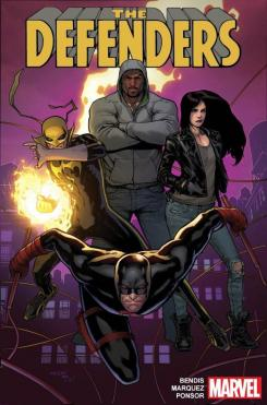 Portada de The Defenders de Brian M. Bendis